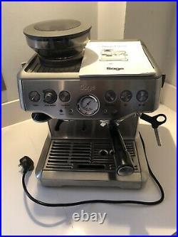 2020 Sage Barista Express Espresso Maker Coffee Machine BES870 Silver