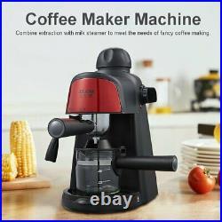 800W 5 Bar Coffee Machine Espresso Cappuccino Latte Drink Maker Mil
