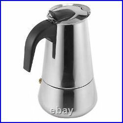 9 Cup Stainless Steel Continental Espresso Coffee Maker Percolator Italian Pot