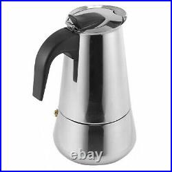 9 Cup Stainless Steel Percolator Italian Continental Espresso Pot Coffee Maker