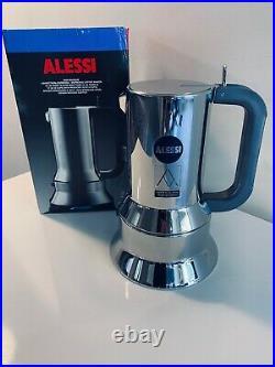 ALESSI Richard Sapper Espresso Coffee Maker Magnum 10 cup Brand New in Box