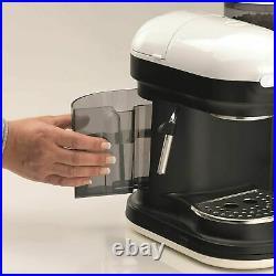 ARIETE MODERNA ESPRESSO COFFE MACHINE BEAN to CUP COFFEE MAKER WHITE