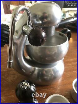 ATOMIC Coffee Cappuccino Espresso Maker BON TRADING SYDNEY MADE IN ITALY