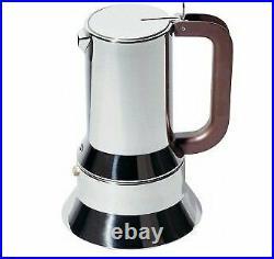 Alessi 9090/M Stovetop Richard Sapper Espresso Coffee Maker, 10 Cups