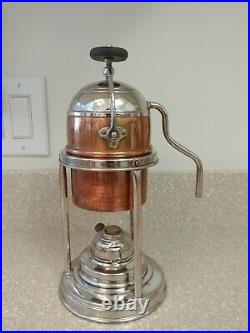 Aquilas FRATELLI SANTINI Ferrara Espresso Coffee maker Made in Italy Vintage