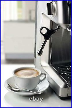 Ariete Metal Espresso Coffee Maker With Grinder (AR1313) 220g grinder tank