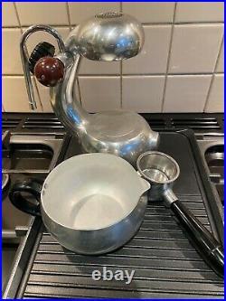 Atomic Cappuccino Stovetop Coffee Machine Retro Espresso Maker