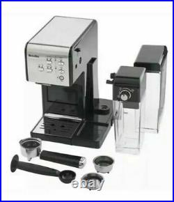 Breville Curve VCF107 One Touch Easy Measure Coffee Maker Machine Black & Silver