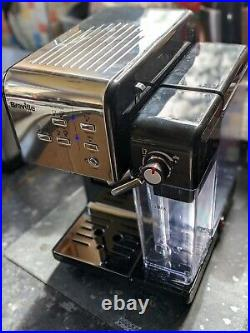 Breville One Touch Coffee Machine Cappuccino Maker In Black And Chrome RRP £299