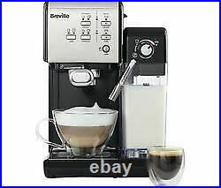 Breville One Touch Coffee Machine Cappuccino Maker In Black RRP £299