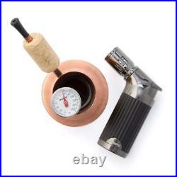 Bripe Coffee Brew Pipe Kit, Portable Espresso or Tea Maker for Traveling, Torch