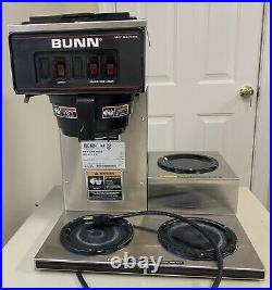 Bunn VP17-3 Commercial Restaurant Pour-Over Coffee Maker Brewer 3 Warmers NSF