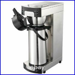 Burco Autofill Filter Coffee Maker 2Ltr/565X205X380mm Stainless Steel Espresso