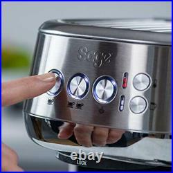 Coffee Machine Bambino Plus Espresso Maker, 1600 W, Stainless Steel