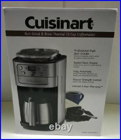 Cuisinart 12 Cup Grind & Brew Coffee Maker DGB-900BC DGB900BCC Brushed Chrome