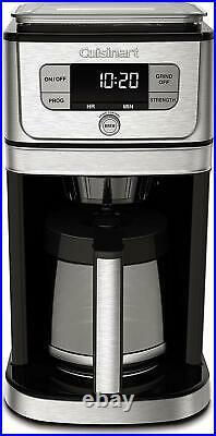 Cuisinart Burr Grind & Brew DGB-800 12-Cup Coffee Maker Black/Stainless Steel