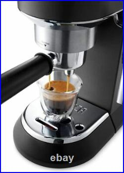 De'Longhi EC685BK Dedica Style Black Barista Pump Coffee Espresso Machine Maker