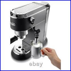 DeLonghi Dedica Pump Machine Coffee Maker EC-685. M Black Ex-display