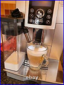 DeLonghi ECAM 23.460. S Bean to Cup Coffee Machine Maker, Silver & Black