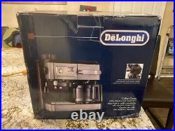 Delonghi BCO330T Drip Coffee and Espresso Machine 10 Cup Coffee Maker