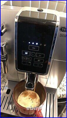 Delonghi ECAM35025SB Dinamica Automatic Ice Coffee Espresso Cappuccino Maker