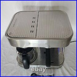 Espressione Stainless Steel Machine Espresso and Coffee Maker, 1.5 L