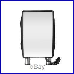 Espresso Coffee Machine Cappuccino Latte Tea Maker 3000W 1.5L 15 Bar Black