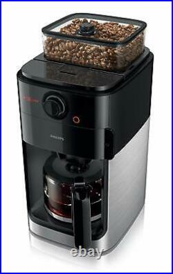 Express Philips HD7761 Grind & Brew Drip Coffee Maker Espresso Machine Grinder