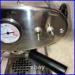 Francis Francis Magic L' Espresso Machine Chrome Silver Refurbished Coffee maker