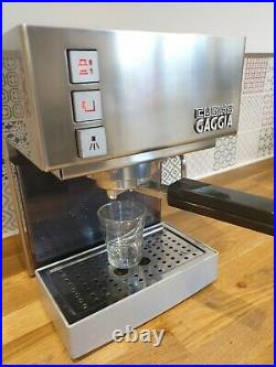 Gaggia CUBIKA Espresso Coffee Maker 2 Cups Stainless Steel 05