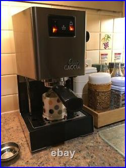 Gaggia Classic 2-cup coffee maker with frother