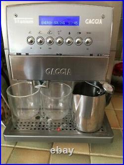 Gaggia Titanium Coffee Maker