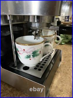 Gaggia coffee Maker 2 Cups Espresso Machine Stainless Steel