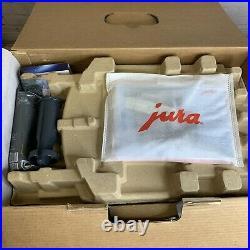 Jura E6 Automatic Coffee Center Model 15070 Platinum Espresso Maker