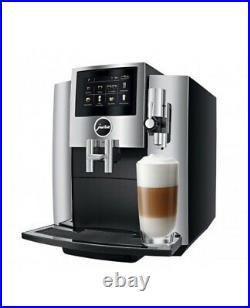 Jura S8 Coffee Maker and Espresso Machine Chrome. Orig Price $2999.99