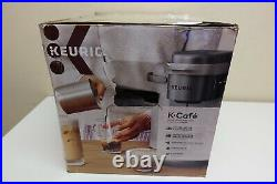 Keurig K-Cafe Special Edition Coffee K84 Latte & Cappuccino Maker Silver (8B-OB)