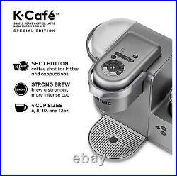 Keurig K-Cafe Special Edition Coffee Maker, Single Serve K-Cup Pod Nickel New
