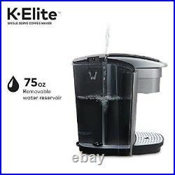 Keurig K-Elite K-Cup Pod Single Serve Coffee Maker/Brewer BRAND NEW Silver