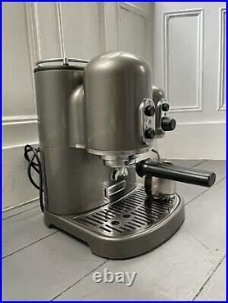 Kitchenaid Artisan Espresso Coffee Machine Maker Medallion Silver Fully Working