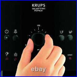 Krups EA8100 NEW Bean to Cup Coffee Machine Automatic Espresso Maker Carbon b
