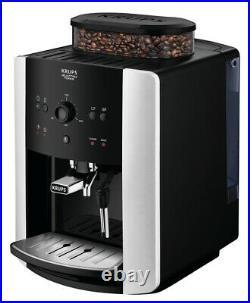 Krups EA811840 NEW Bean to Cup Coffee Maker Espresso Arabica Black & Silver