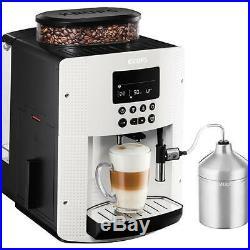 Krups EA8161 automatic Cappuccino Espresso coffee maker white