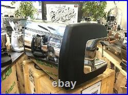 La Cimbali M39 Dosatron Hd 3 Group Black Espresso Coffee Machine Maker Commercia