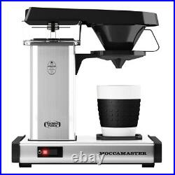 Moccamaster Cup-One Single Cup Coffee Maker Polished SIlver