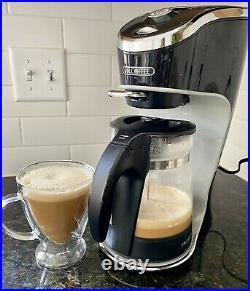 Mr. Coffee Cafe Latte Maker Original Box & Instructions BVMC-EL1 TESTED WORKS