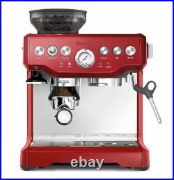 NEW Breville Red Barista Express Coffee Machine & Espresso Maker (RRP $899.95)