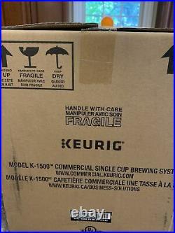 NEW Keurig K1500 Commercial Coffee Maker (377949)