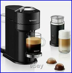 Nespresso DeLonghi Vertuo Next Premium Coffee Maker with Aeroccino3 Matte Black