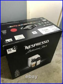 Nespresso F511Re Capsule Espresso Maker Machine Lattissima Touch Red 100 NEW FS