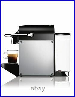 Nespresso Pixie Coffee Maker, Colour Aluminium Black